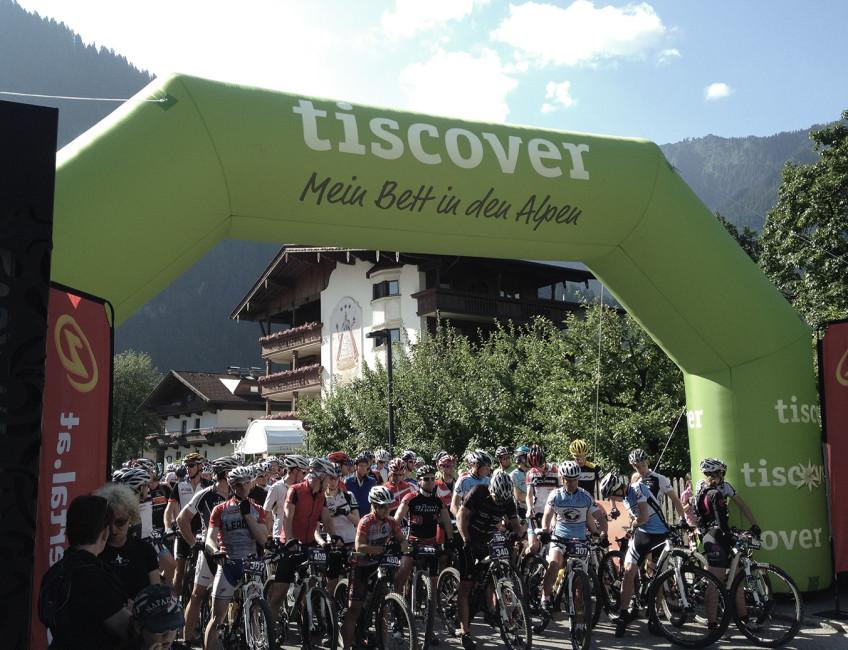 Infotainment bei der Zillertal Bike Challenge